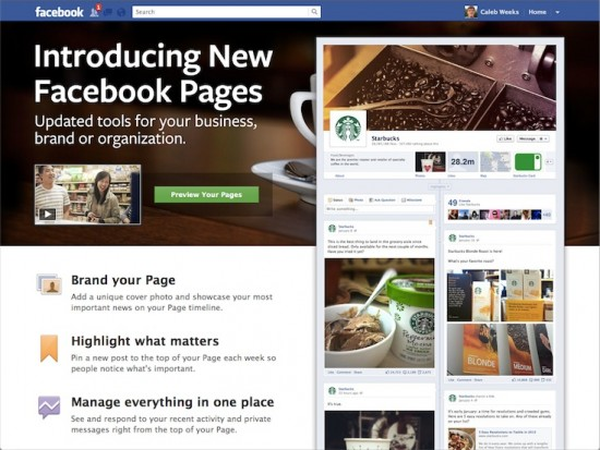 Facebook Pages (Starbucks)