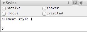 Screen Shot CSS Pseudo-classes
