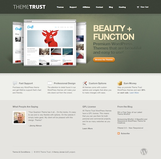 Theme Trust | Premium Professional WordPress Themes