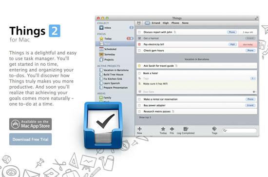 Things Mac – Web header