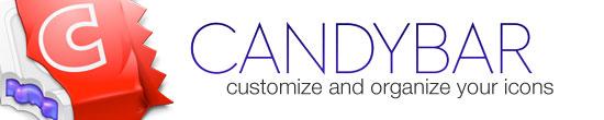 CandyBar – customize and organize your icons