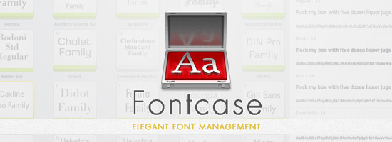 Fontcase | Elegant Font Management
