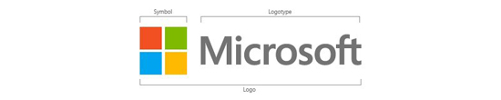 Microsoft Logo dissected