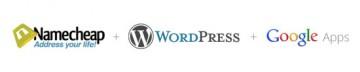 Namecheap + WordPress + Google Apps