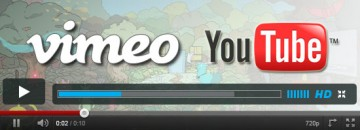 Video Hosting - Vimeo and YouTube